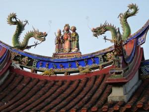 Taipei, San xia, Lin Mansion garden, Chi tou forest