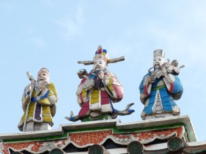 Lukang (Lugang) puis Taipei