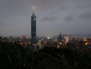 Taipei, Elephant mountain, puis Shiding