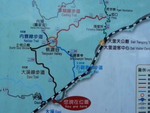 Daxi. Randonnée Taoyan valley
