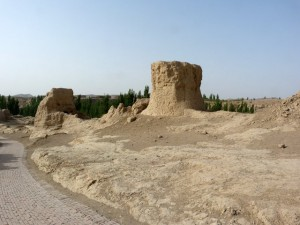 Turpan. Ancient city of Jiaohe, Flaming Mountains, Karez, Bezelik Thousand Budda caves