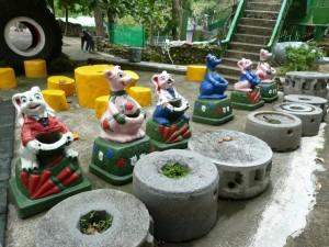 Tainan Jour 13 – De Meinong, retour à Tainan en scooter