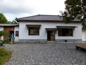 Comté de Taitung. Luye. Maison japonaise en restauration