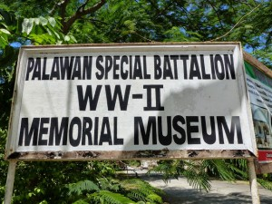 Puerto Princesa. Palawan Special Battalion WW-II Memorial Museum