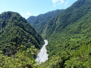 Comté de Taitung. Les gorges de Wulu