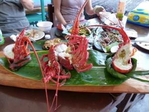Déjeuner au bord du Pacifique (Sud de Hualien)
