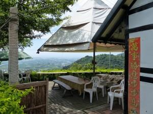 Comté de Taitung. Proches montagnes de Taitung et caféiers