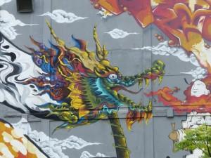 Taipei. Street art à Ximen et Youth park