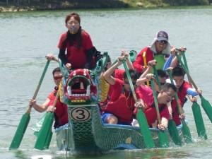Dragon boat festival à Longtan ( Taoyuan)