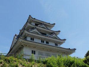Château Awa Kawashima près de Tokushima (Shikoku)