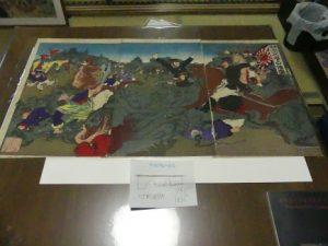 Beppu,(Kyushu). Un collectionneur de  gravures de 120 à 150 ans. Il a commencé il y a 40 ans…