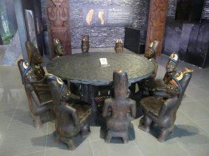 Pingtung. Musée aborigène, Ethnie essentiellement Paywan et un peu Rukai.