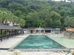 Taitung, sources chaudes de Chih-Pen