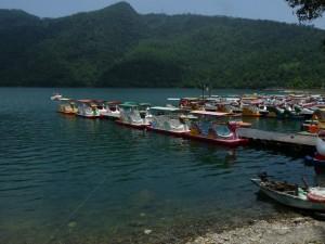 Hualien, Liyu Lake, Monet garden guest house