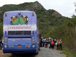5 jours en car autour de Taïwan