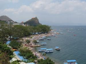 Lac Jiangchiang au sud de Kunming, puis Kunming