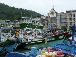 Le port de Su Ao