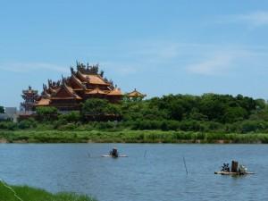 Tainan Jour 3 – Vers Cigu, au nord de Tainan, musée du sel, en scooter