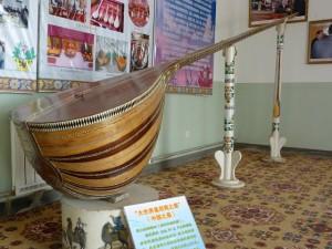 Kashgar. Fabrique d'instruments de musique
