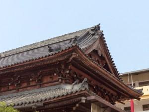 Taipei. Rinzai Zen Temple 臨濟宗護國禪寺