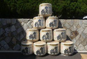 Sept distilleries de saké