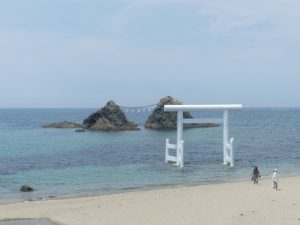 Fukuoka, (Kyushu) (enfin pas loin) dégustation de saké, de bière puis campagne et bord de mer