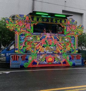30 secondes de théâtre de marionnettes de rue, vu par hasard
