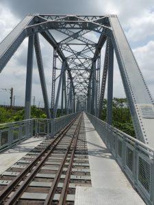 Pingtung. Dashu old railway bridge